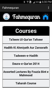Fahm-e-Qur'an poster