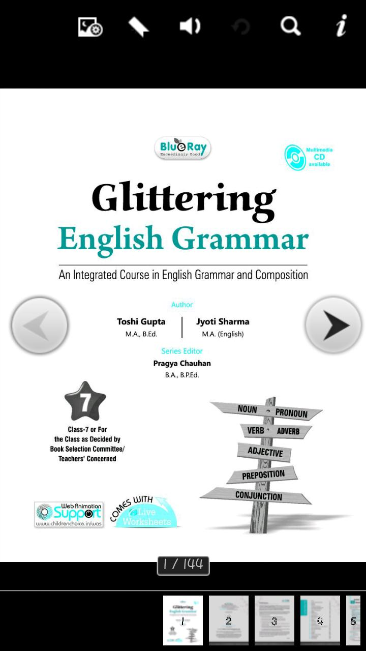 Glittering English Grammar 7 for Android - APK Download