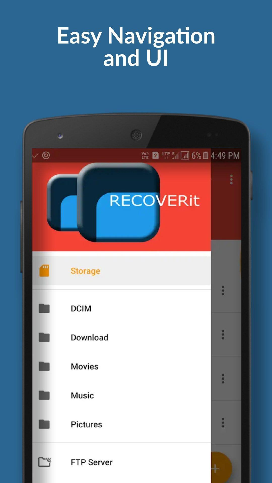 Recoverit - best file explorer for Android - APK Download