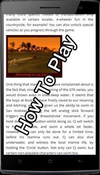 Best Guide For GTA San Andreas screenshot 2
