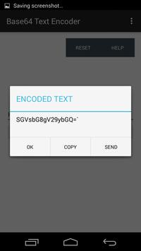 Base64 Text Encoder screenshot 1