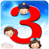 Child match 3 kids games icon