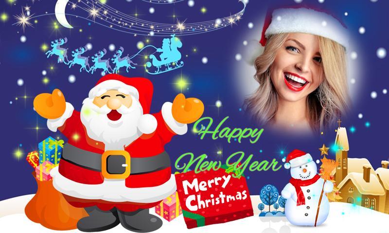 Natal Bingkai Foto Tahun Baru 2020 For Android Apk Download