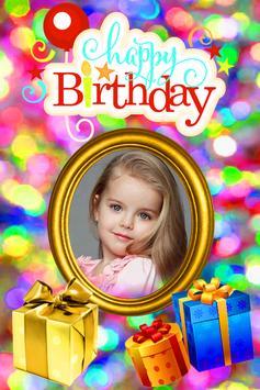 Happy Birthday Cute Frame poster