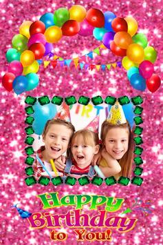 Happy Birthday Cute Frame apk screenshot