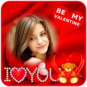 Valentine Day Frame icon
