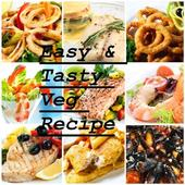 Easy and Tasty Veg Recipe icon