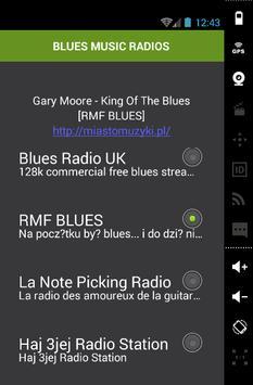 BLUES MUSIC RADIOS poster