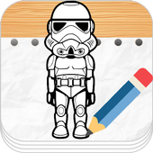 Learn To Draw Star Wars icon