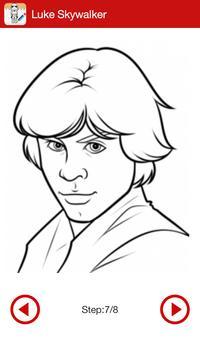 Learn To Draw Star Wars screenshot 3
