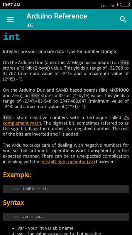 Arduino language reference apk baixar grátis livros e