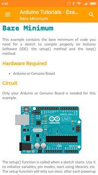 Arduino Tutorials - Examples screenshot 1