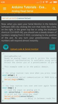 Arduino Tutorials - Examples screenshot 2