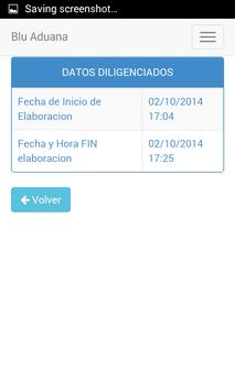 Blu Aduana screenshot 2