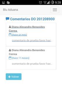Blu Aduana screenshot 5
