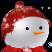 Snowman LWP icon