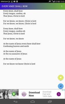 Benjamin Dube Lyrics screenshot 1