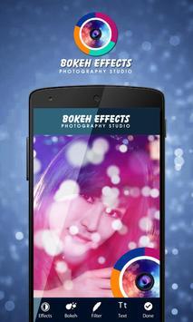 Bokeh Photo Effect:Magic Brush poster