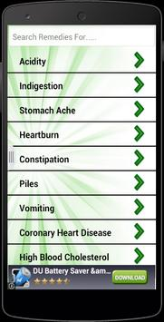 Natural Home Remedies Free poster