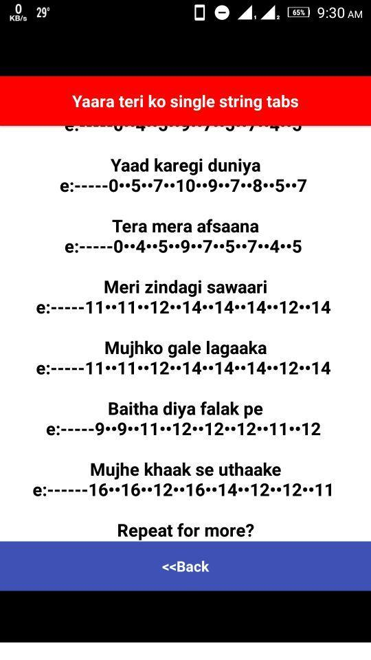 Bollywood Songs Guitar Tabs For Android Apk Download Most accurate online guitar lessons. bollywood songs guitar tabs for android