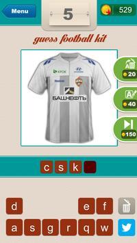Guess Football Club's Kit ? apk screenshot