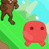 Run from bear icon