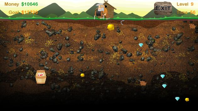 Gold Miner Adventure apk screenshot