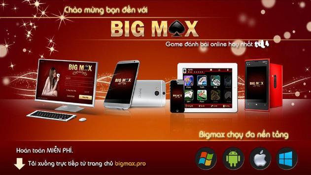 BIGMAX - GAME BAI, DANH BAI poster
