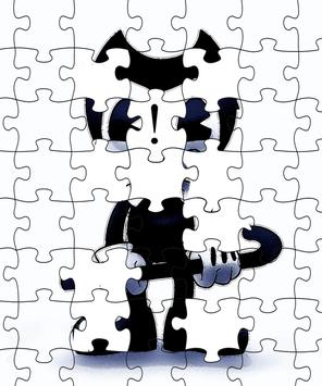 Bendy Puzzle Ink Kids poster