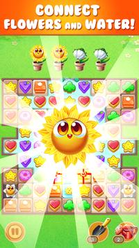 cookie sunflower : match 3 puzzle poster