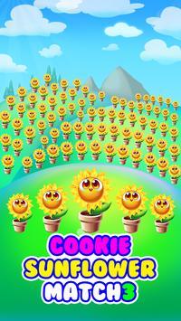 cookie sunflower : match 3 puzzle screenshot 9