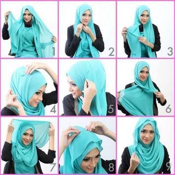 Hijab Style Tutorial apk screenshot