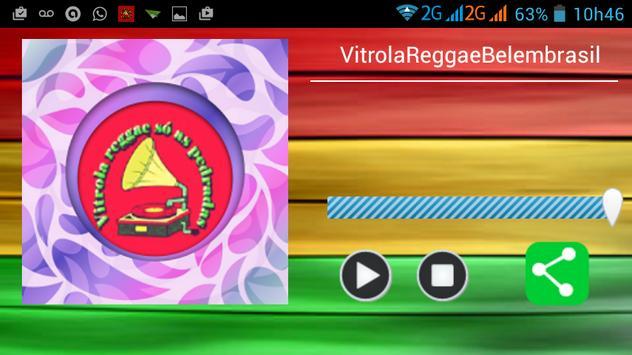 Radio Vitrola Reggae Belem web apk screenshot