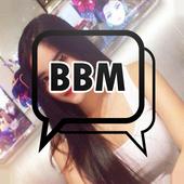 New bbm transparan icon