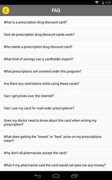 Morgan Drug Card apk screenshot