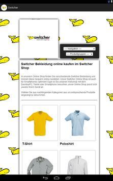 Switcher Bekleidung screenshot 1