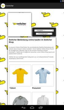 Switcher Bekleidung screenshot 2