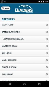 World Leaders Conference apk screenshot