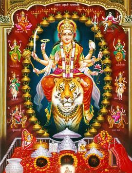 Durga Devi Wallpapers (Navaratri/Dussehra Special) imagem de tela 4