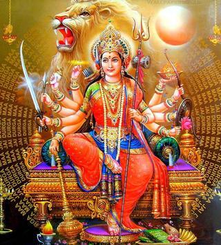 Durga Devi Wallpapers (Navaratri/Dussehra Special) imagem de tela 10
