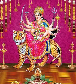 Durga Devi Wallpapers (Navaratri/Dussehra Special) imagem de tela 15