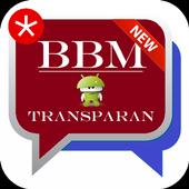 BBM Transparan icon