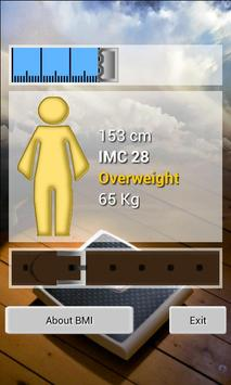 BMI, ideal weight apk screenshot