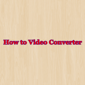 How to Video Converter icon