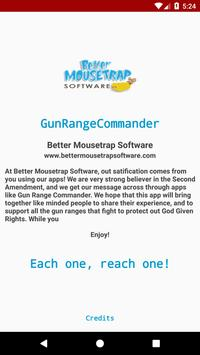 Gun Range Commander Lite screenshot 2