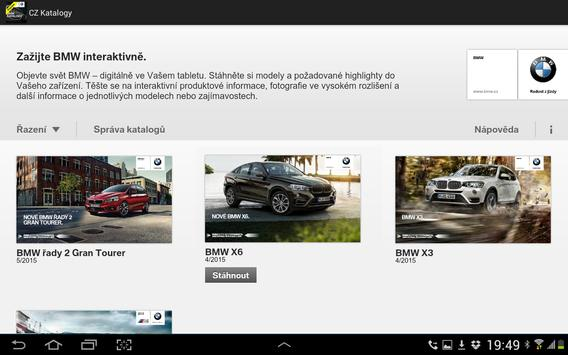BMW Katalogy screenshot 2