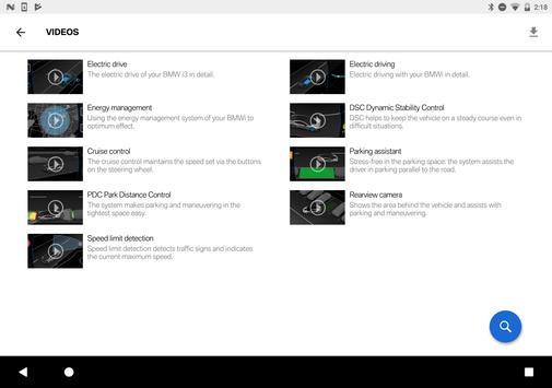 BMW i Driver's Guide apk screenshot