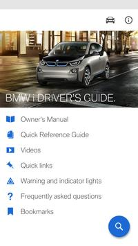 BMW i Driver's Guide poster