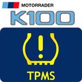 BMW K100 TPMS icon