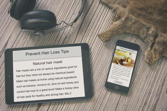 Prevent Hair Loss Tips (Naturally 2018) screenshot 2
